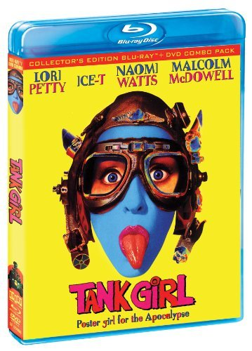 Tank Girl Collector's Edition Blu Ray DVD R Ws