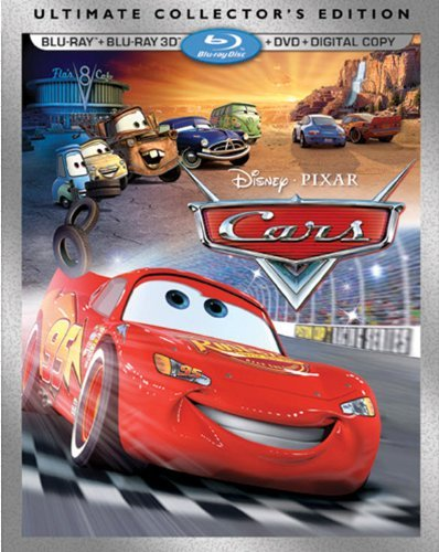 Cars 3d Ultimate Collector's Cars 3d Ultimate Collector's Blu Ray Ws 3d G 3d Blu Ray DVD Dc
