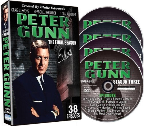 Peter Gunn Season 3 Final Season Nr Ff