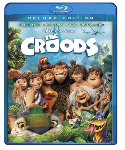The Croods The Croods Blu Ray Ws 3d Pg Br DVD Dc
