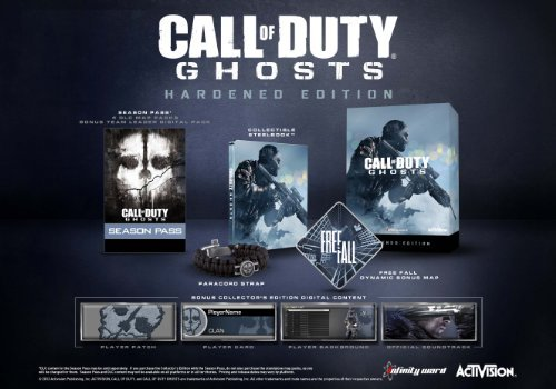 Xbox One Call Of Duty Ghosts Hardened Edition