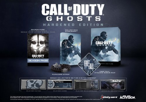 Xbox 360 Call Of Duty Ghosts Hardened Edition