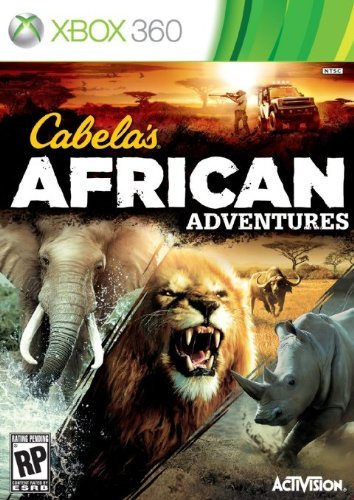 Xbox 360 Cabelas African Adventures 201 Activision Inc. Rp