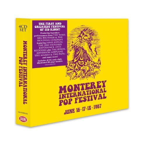 Monterey Pop Monterey International Pop Fes Import Gbr 4 CD