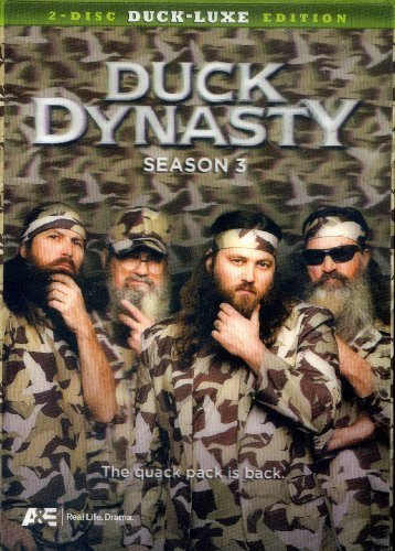 Duck Dynasty Season 3 2 Disc Duck Luxe Edition 2 Disc Duck Luxe Edition