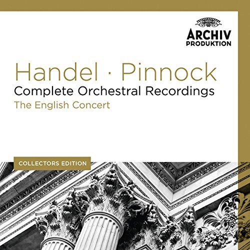 George Frideric Handel Collectors Edition Complete O 11 CD Pinnock English Concert