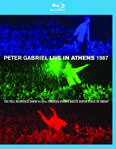 Peter Gabriel Peter Gabriel Live In Athens Blu Ray DVD