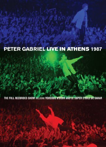 Peter Gabriel Live In Athens 1987 & Play Nr 2 DVD