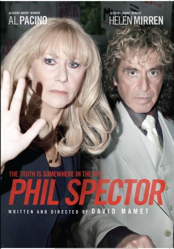 Phil Spector Pacino Mirren Tambor DVD Mod This Item Is Made On Demand Could Take 2 3 Weeks For Delivery