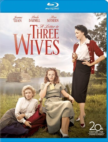 Letter To Three Wives 65th An Crain Darnell Sothern Blu Ray Ws Bw R