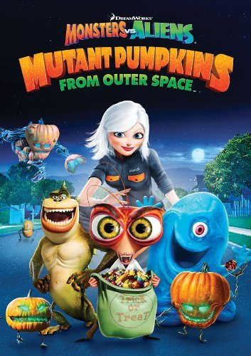 Monsters Vs. Aliens Mutant Pumpkins From Outer Space DVD Nr