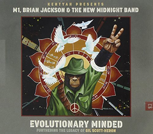 Kentyah M1 Brian Jackson & The Evolutionary Minded (furtherin Digipak