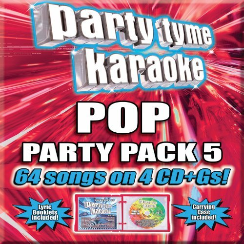 Party Tyme Karaoke Pop Party Pack 5 4 CD