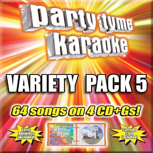 Party Tyme Karaoke Variety Pack 5 4 CD