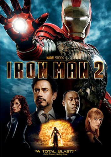 Iron Man 2 Downey Paltrow Cheadle DVD Pg13 Ws