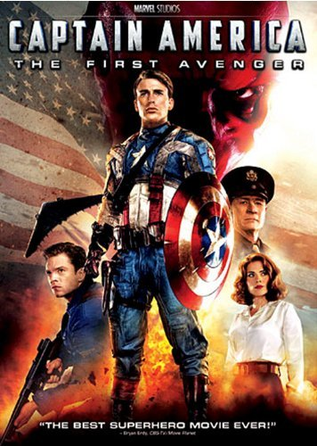 Captain America First Avenger Evans Weaving Armitage DVD Pg13 Ws