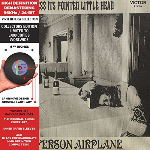 Jefferson Airplane Bless Its Pointed Little Head Remastered Lmtd Ed. Deluxe Vinyl Replica
