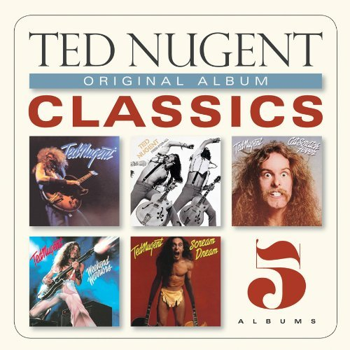Ted Nugent Original Album Classics Slipcase 5 CD