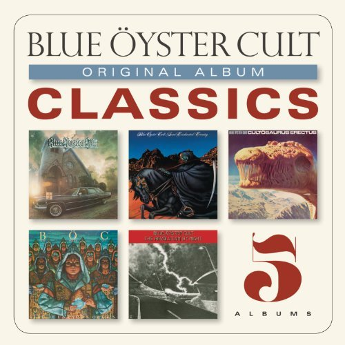 Blue Öyster Cult Original Album Classics Slipcase 5 CD