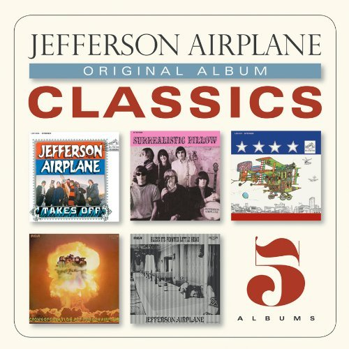 Jefferson Airplane Original Album Classics Slipcase 5 CD