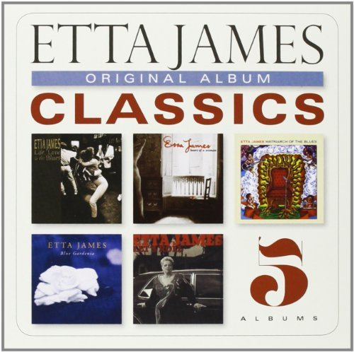 Etta James Original Album Classics Slipcase 5 CD