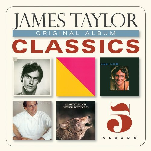 James Taylor Original Album Classics Slipcase 5 CD