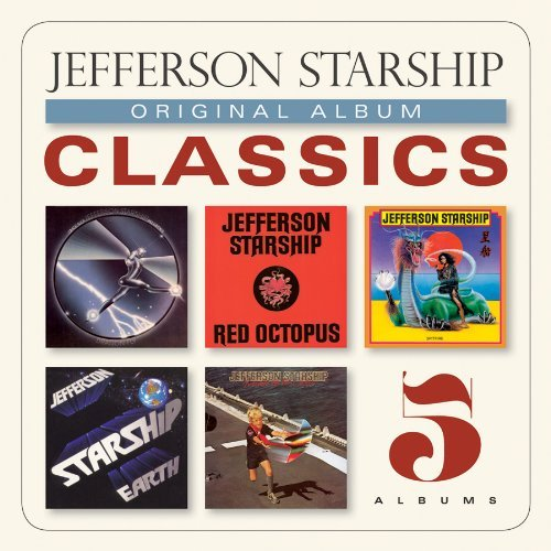 Jefferson Starship Original Album Classics Slipcase 5 CD