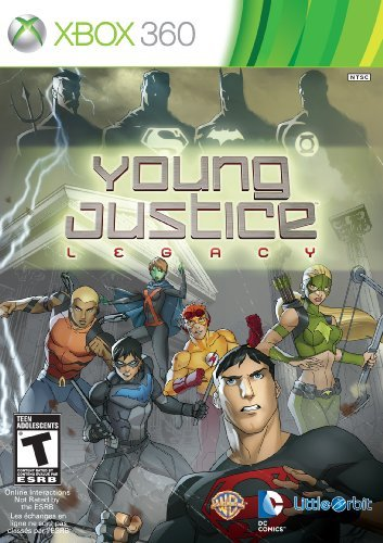 Xbox 360 Young Justice Rotl Majesco Sales Inc.
