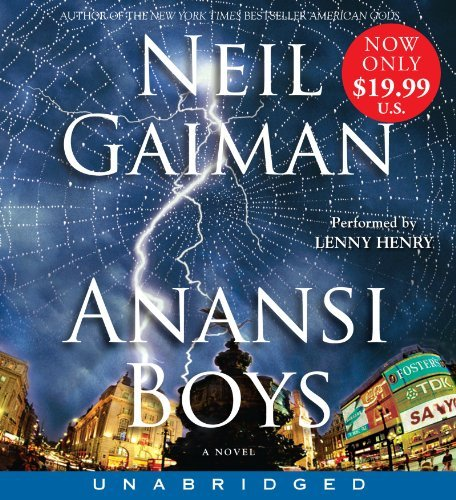 Neil Gaiman Anansi Boys Low Price CD