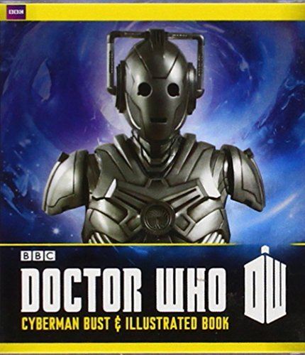 Running Press Doctor Who Cyberman Bust And Illustrated Book