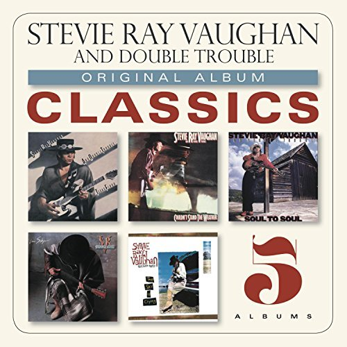 Stevie Ray & Double Tr Vaughan Original Album Classics Slipcase 5 CD
