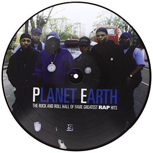 Public Enemy Planet Earth Rock & Roll Hall Picture Disc