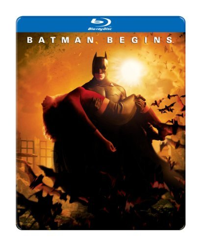 Batman Begins Batman Begins Blu Ray Ws Steelbook R