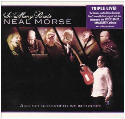 Neal Morse So Many Roads Live 3 CD