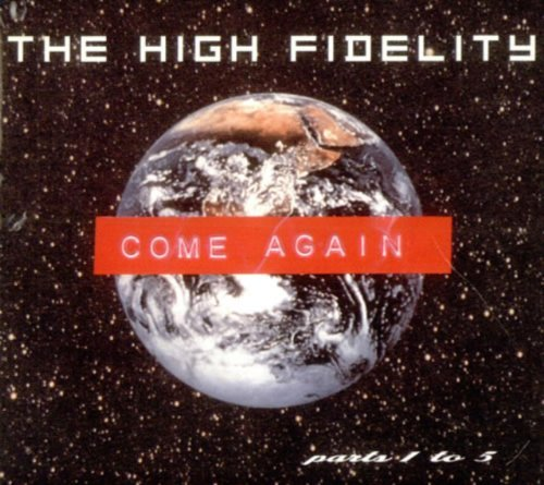 The High Fidelity Come Again CD Uk Plastique 1998