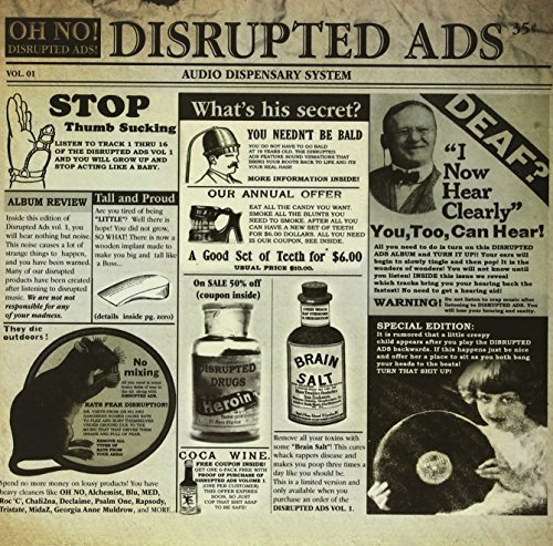 Oh No Disrupted Ads (flexi + Etched 2 Lp