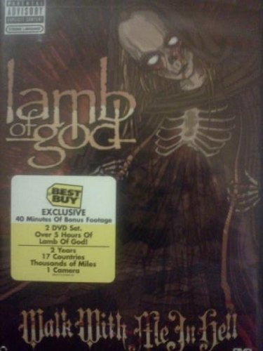 Lamb Of God Walk With Me In Hell 2dvd Amar Cbs401 A652 Epic