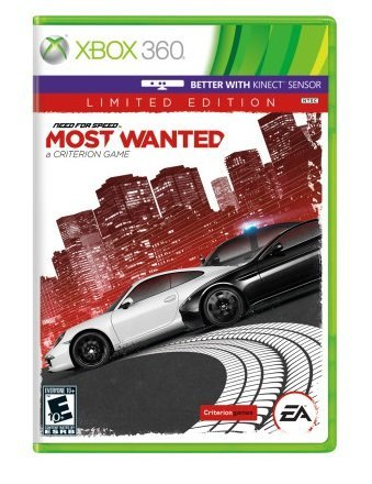 Xbox 360 Need For Speed Most Wanted (limited Edition)
