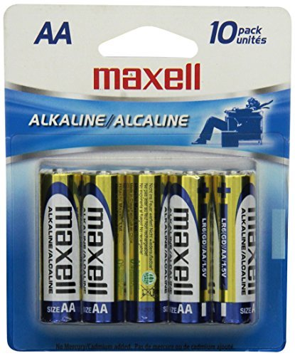 Batteries Aa Alkaline 10pk