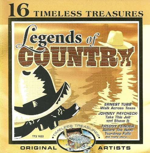 Timeless Treasures Legends Of Country Enhanced CD Timeless Treasures