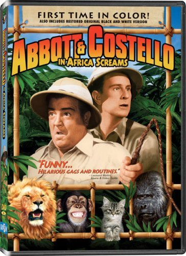 Africa Screams Abbott & Costello Nr