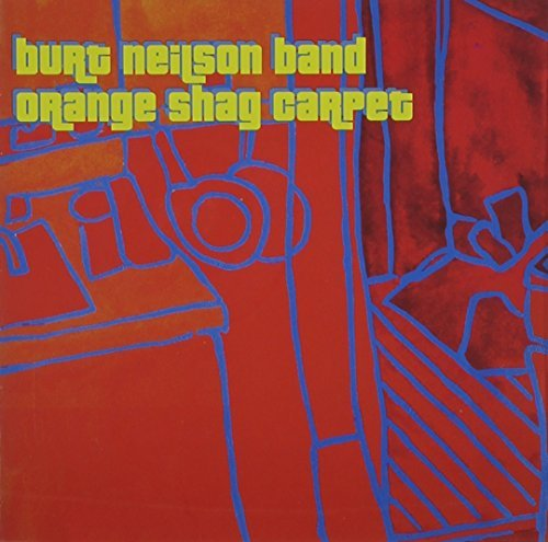 Burt Band Neilson Orange Shag Carpet