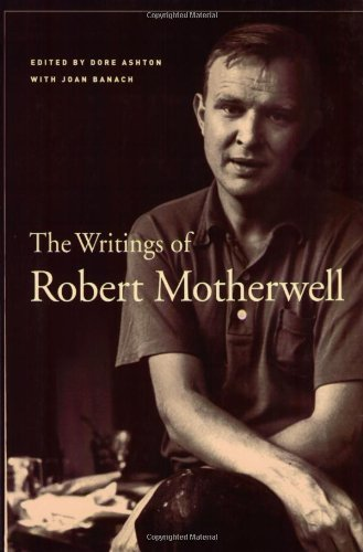 Robert Motherwell The Writings Of Robert Motherwell