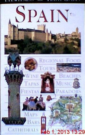 Stephen Conlin Richard Draper Claire Littlejohn Eyewitness Travel Guide To Spain