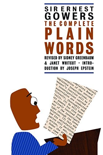 Ernest Gowers The Complete Plain Words 0003 Edition;