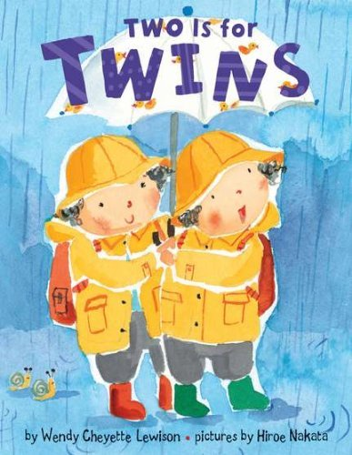 Wendy Cheyette Lewison Two Is For Twins