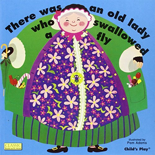 Pam Adams There Was An Old Lady Who Swallowed A Fly