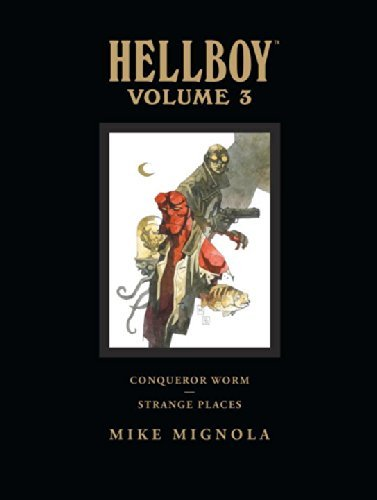 Mike Mignola Hellboy Library Volume 3 Conqueror Worm And Strange Places