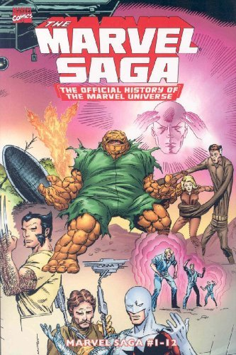Peter Sanderson Marvel Saga The The Official History Of The Marvel Universe