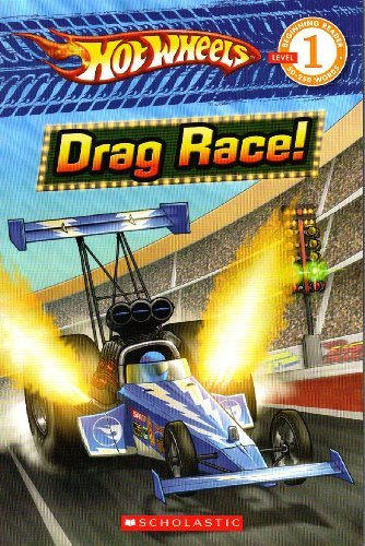 Ace Landers Drag Race Hot Wheels Scholastic Reader Level 1